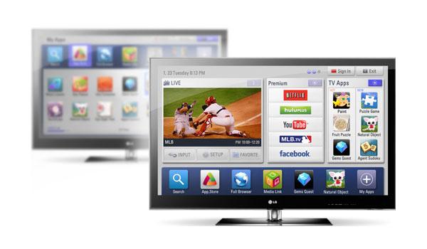 lg smart tv smart menu