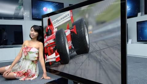 LG'den dünyanın en büyük 3D Full LED Televizyonu